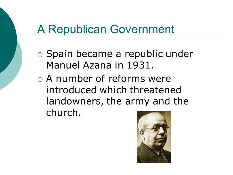 A Republican Government