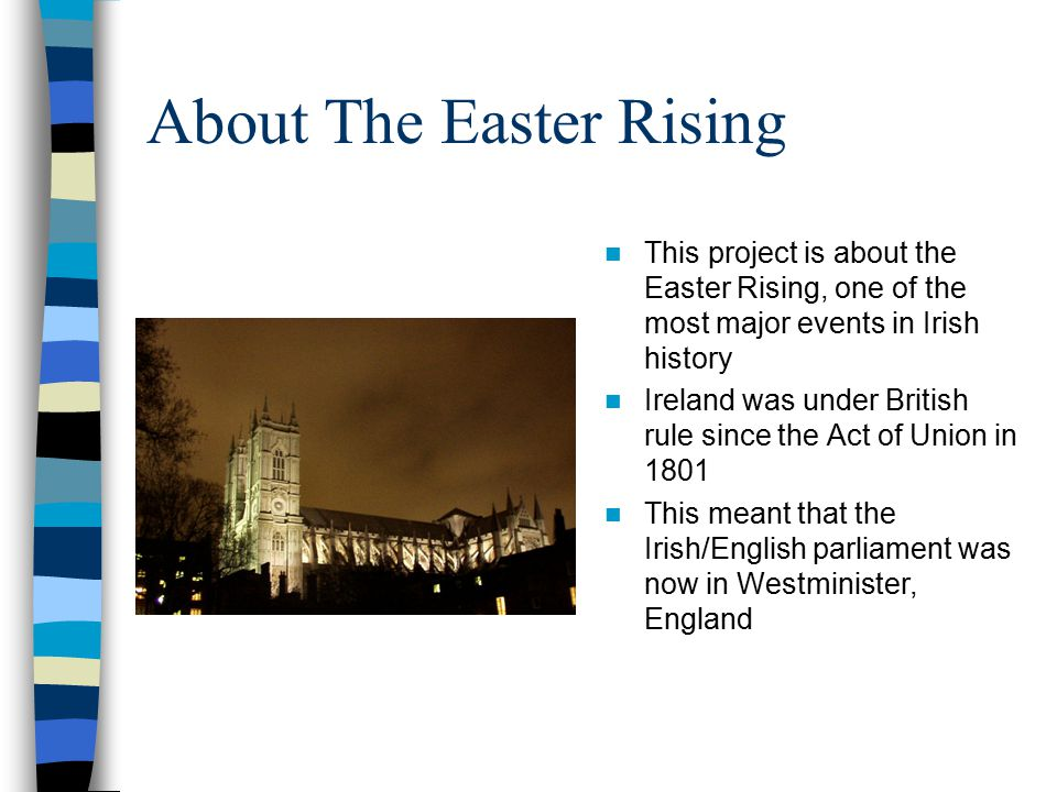 About The Easter Rising
