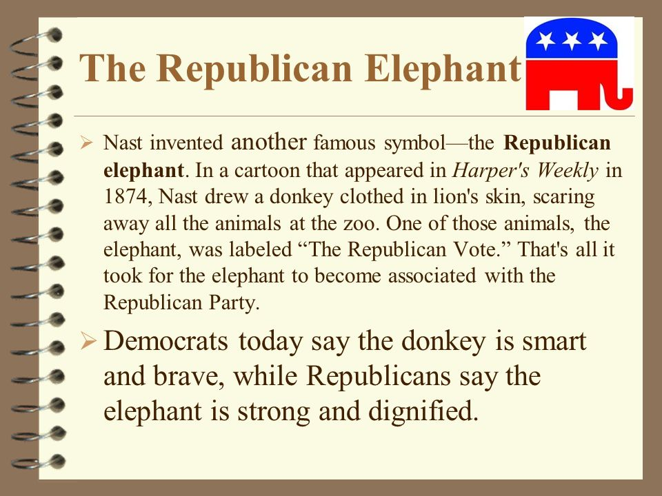 The Republican Elephant