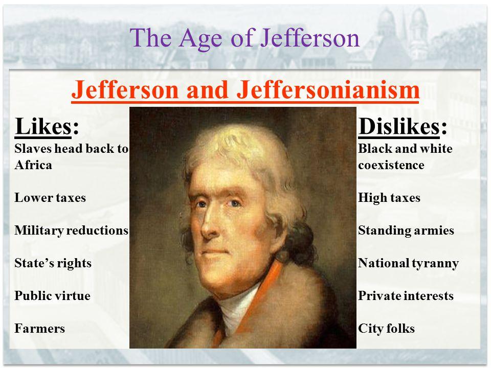 Jefferson and Jeffersonianism
