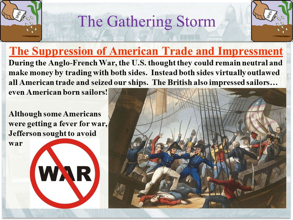 The Suppression of American Trade and Impressment