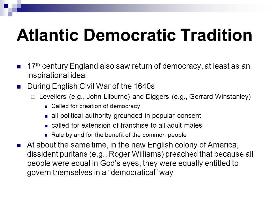 Atlantic Democratic Tradition
