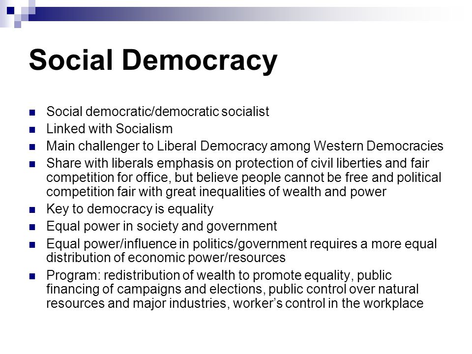 more democratic society There are political,economical,even cultural connotation attached to a democratic societythe fundamental doctrine on which a democratic society is based is the power,which is exercised by people of the society therefore,in a nazi or in fascist society or any society ruled by king or queen.
