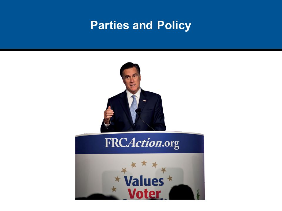Parties and Policy