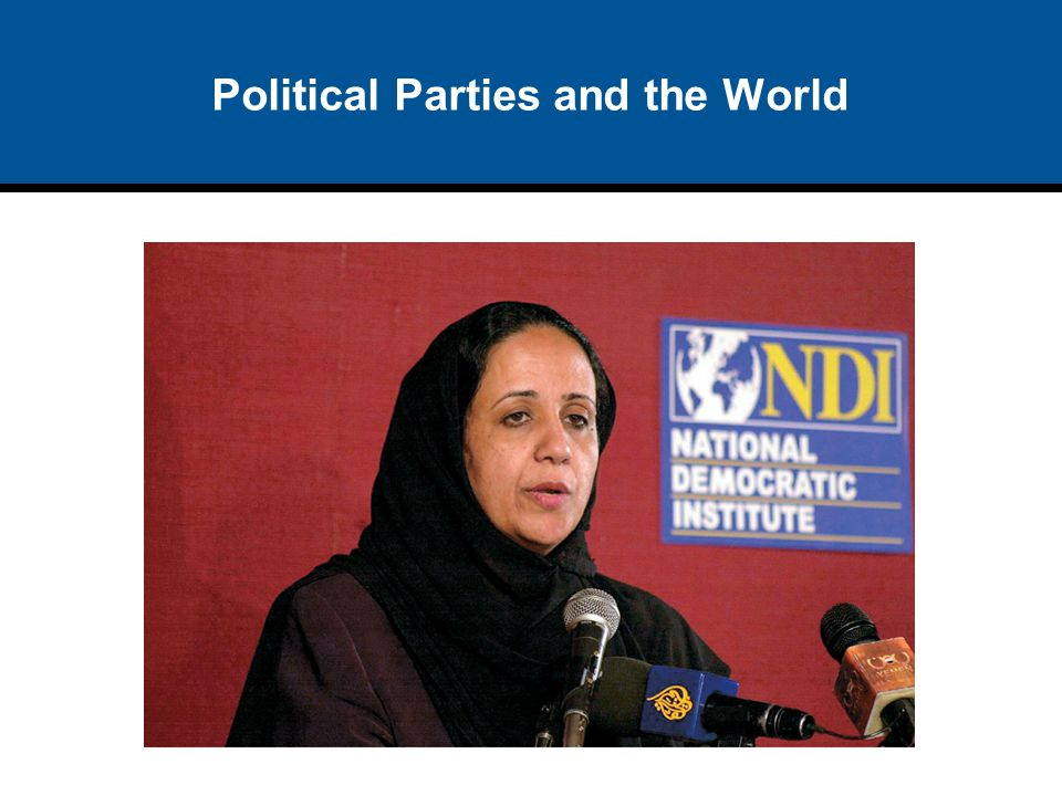 Political Parties and the World