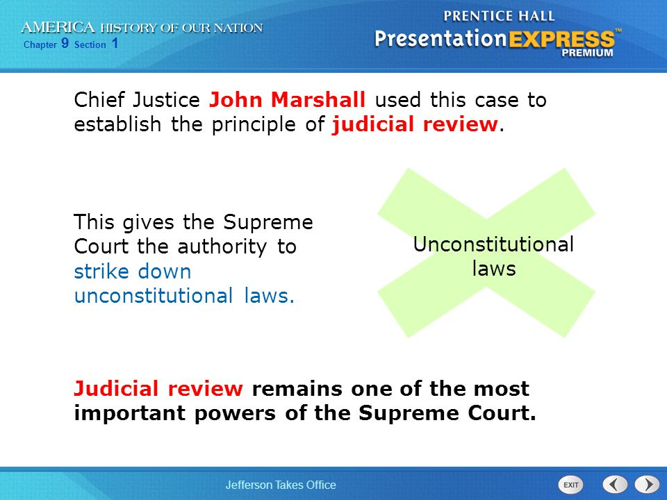 Unconstitutional laws