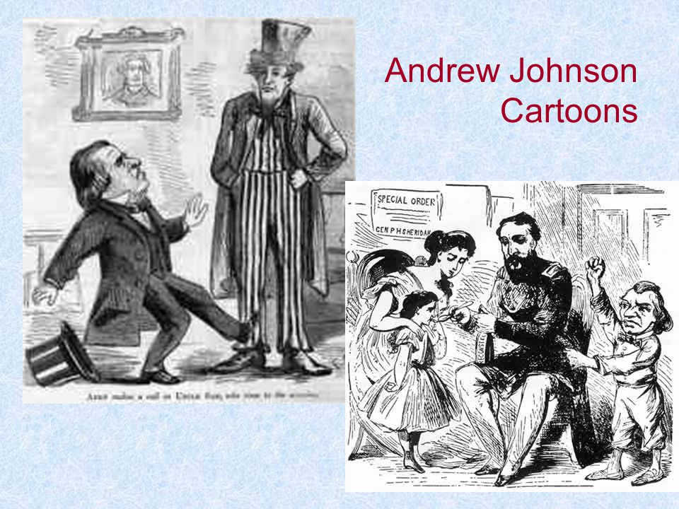 Andrew Johnson Cartoons
