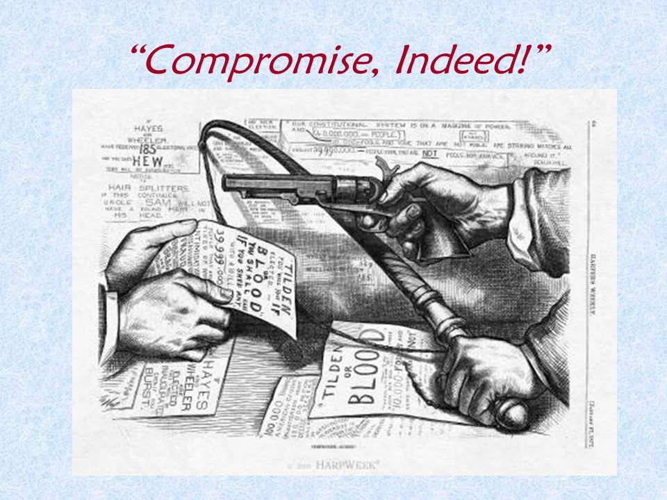 Compromise, Indeed!