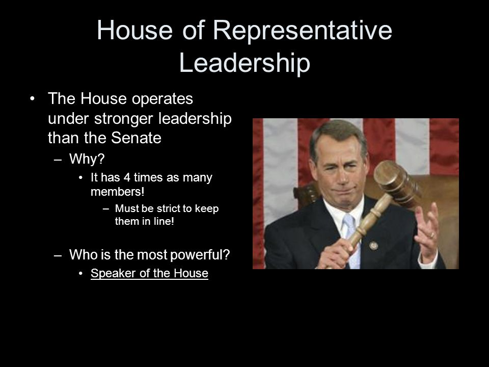 House of Representative Leadership