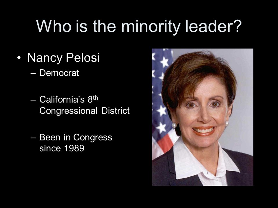 Who is the minority leader