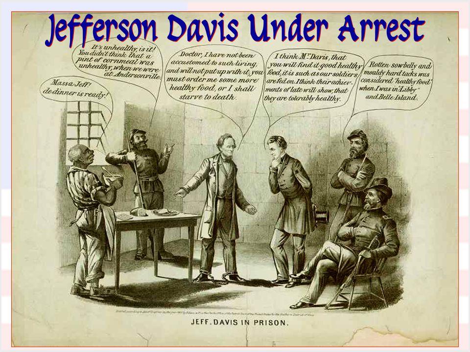 Jefferson Davis Under Arrest