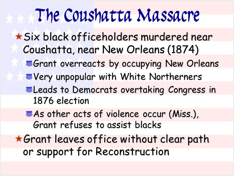 The Coushatta Massacre