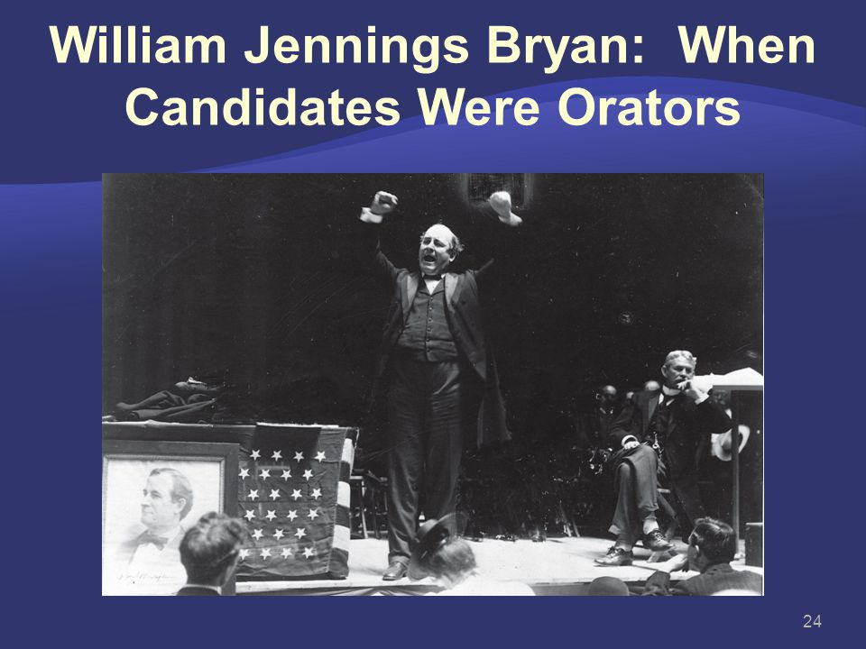 William Jennings Bryan: When Candidates Were Orators