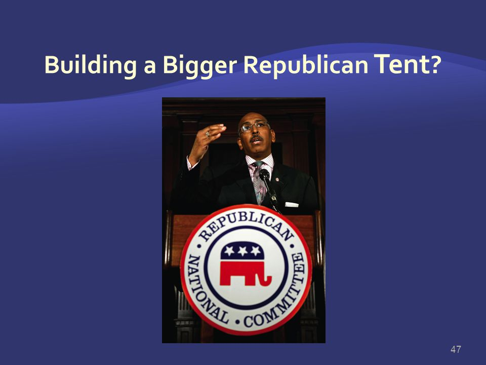 Building a Bigger Republican Tent