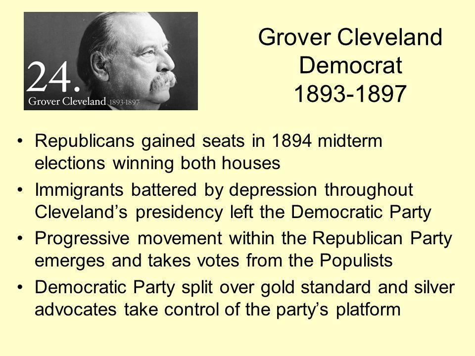 Grover Cleveland Democrat 1893-1897