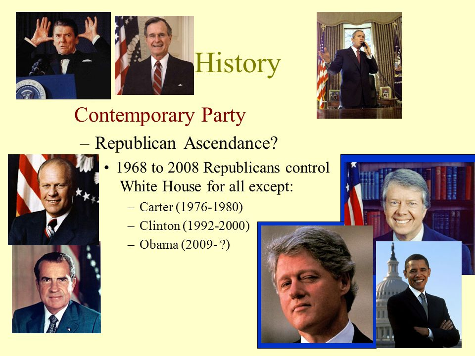 History Contemporary Party Republican Ascendance
