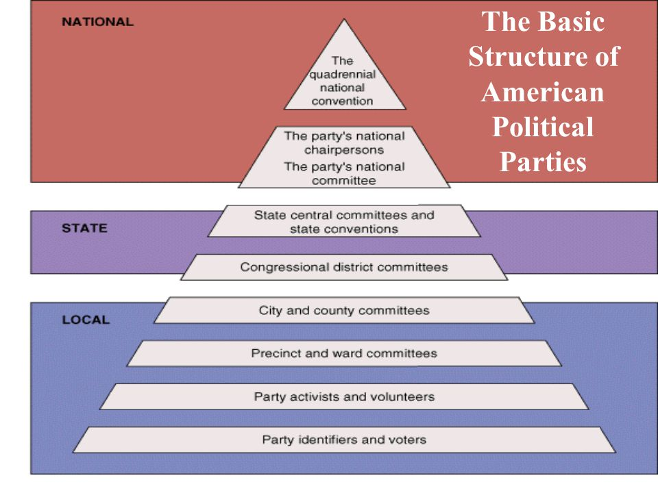 The Basic Structure of American Political Parties