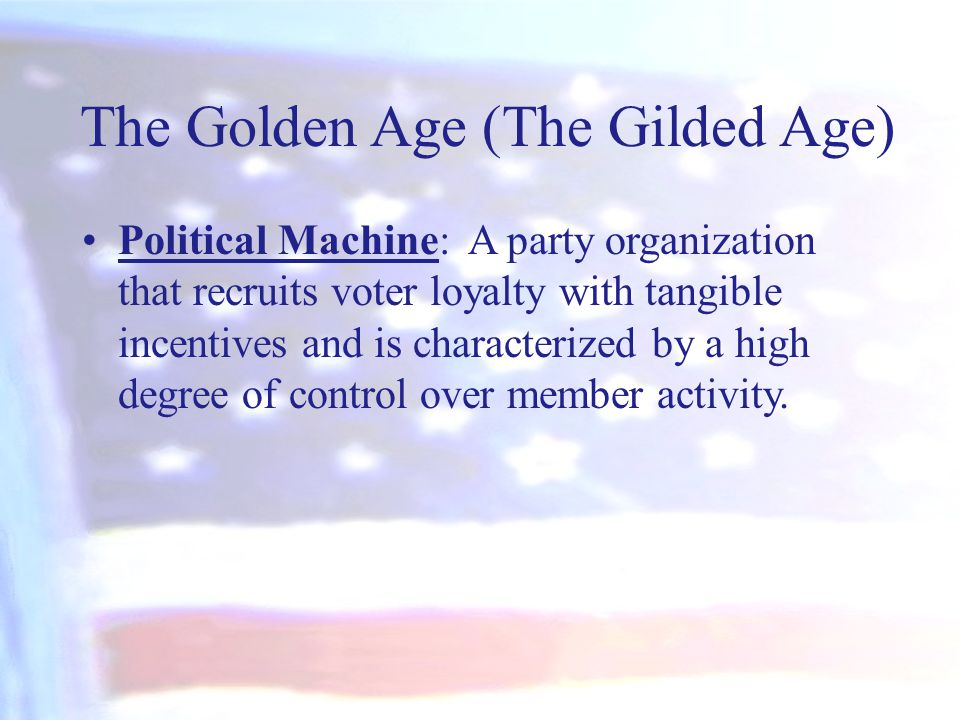 The Golden Age (The Gilded Age)