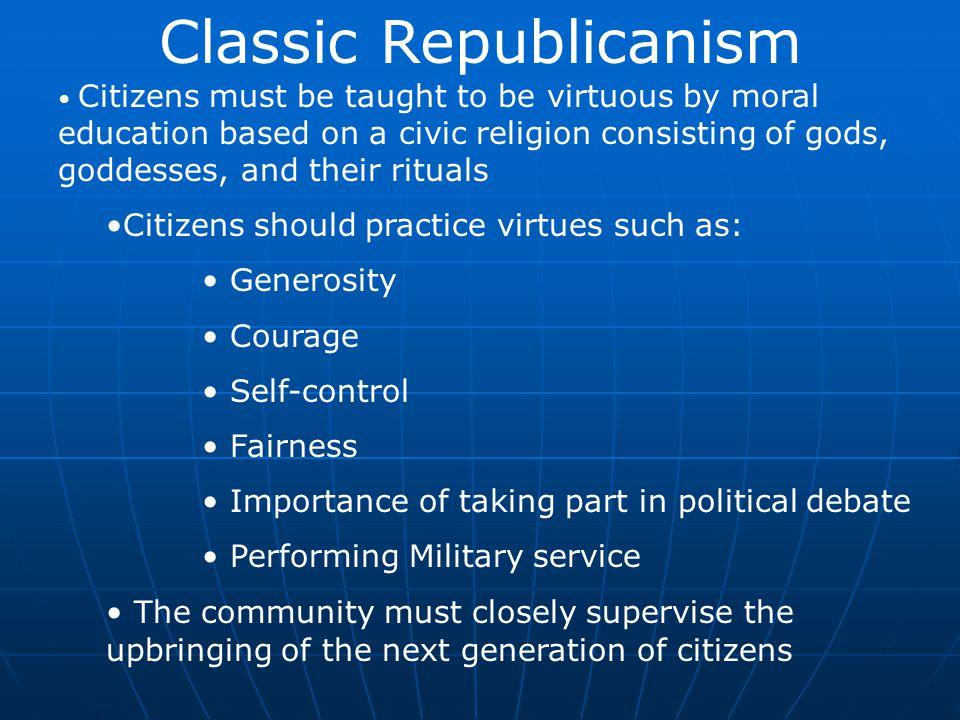 Classic Republicanism