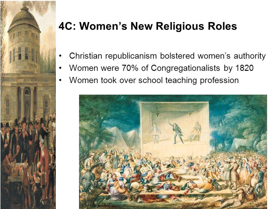 4C: Women's New Religious Roles