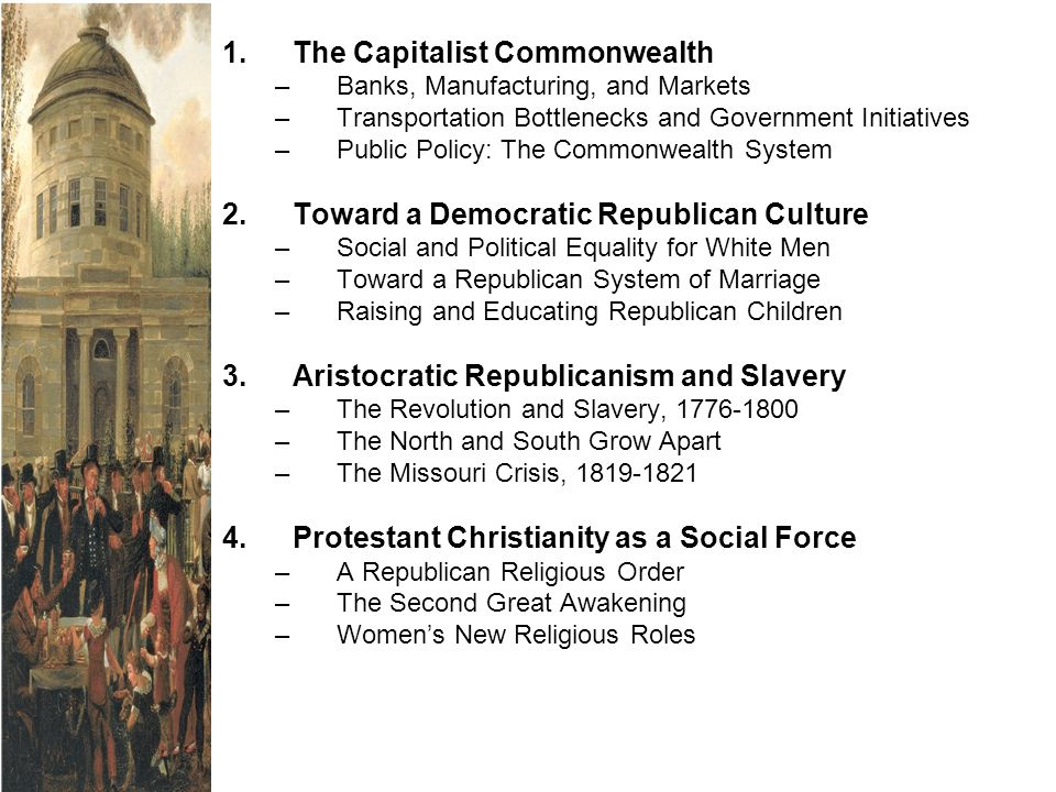 1. The Capitalist Commonwealth