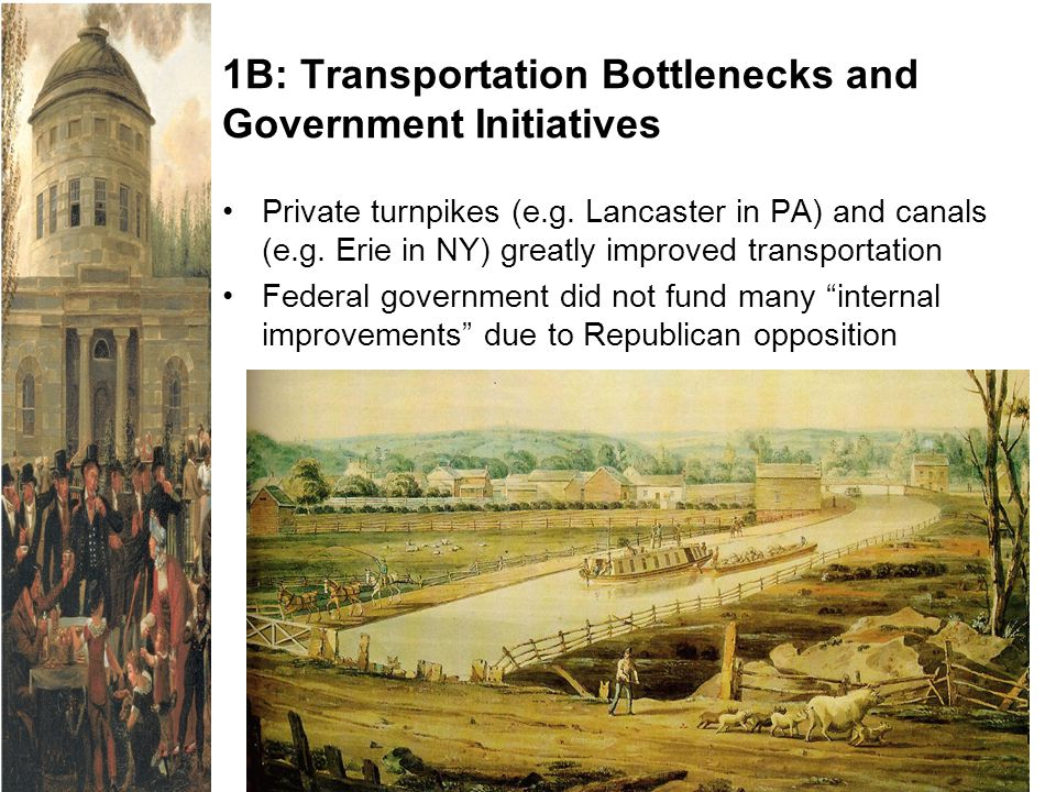 1B: Transportation Bottlenecks and Government Initiatives