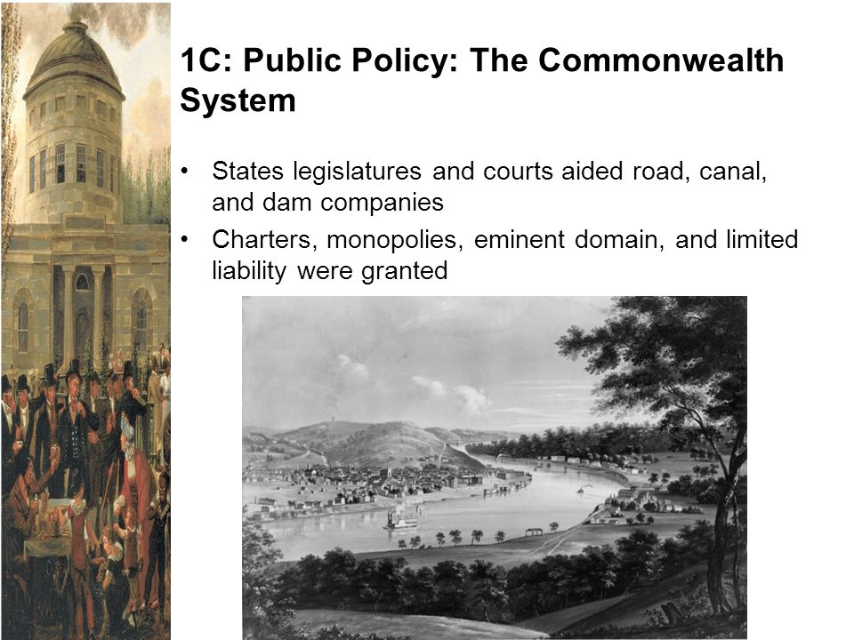1C: Public Policy: The Commonwealth System