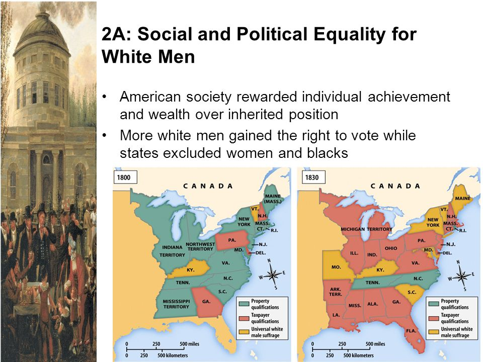 2A: Social and Political Equality for White Men