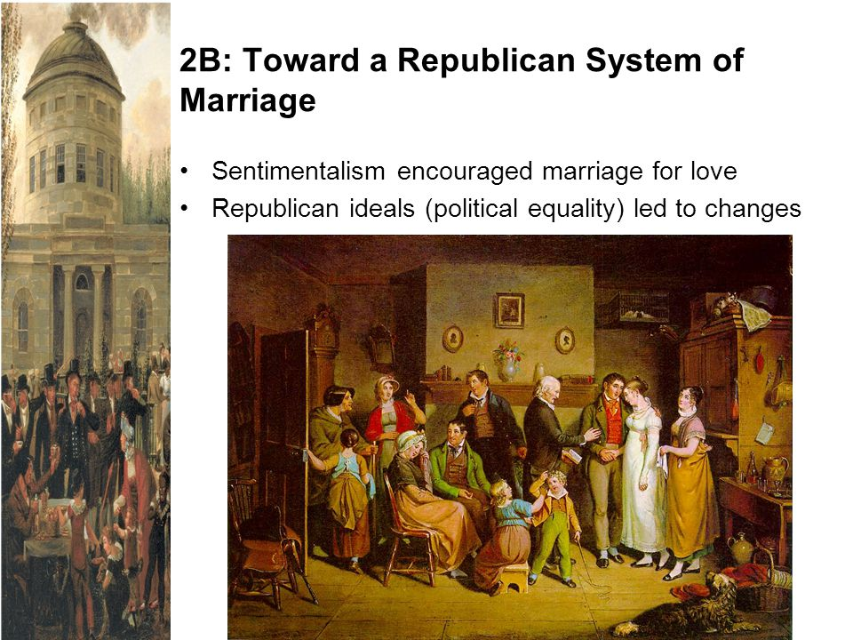 2B: Toward a Republican System of Marriage
