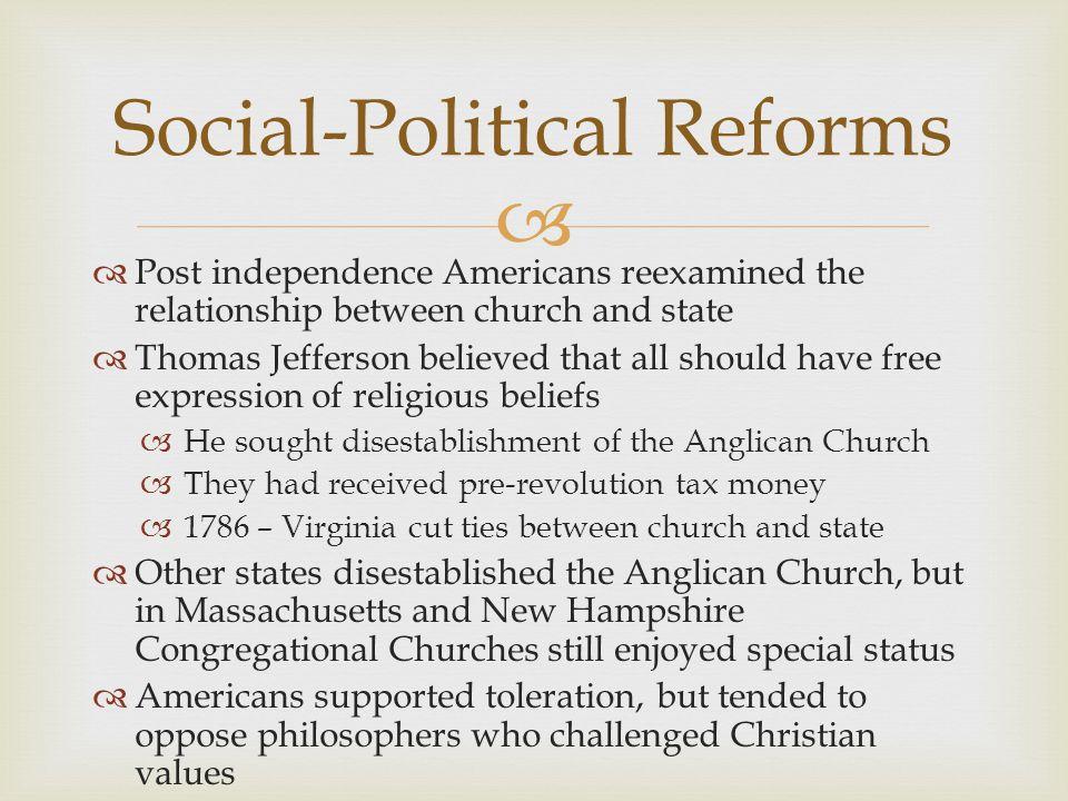 Social-Political Reforms