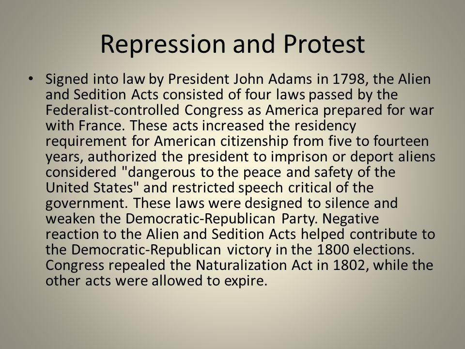Repression and Protest