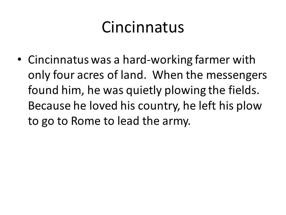 Cincinnatus