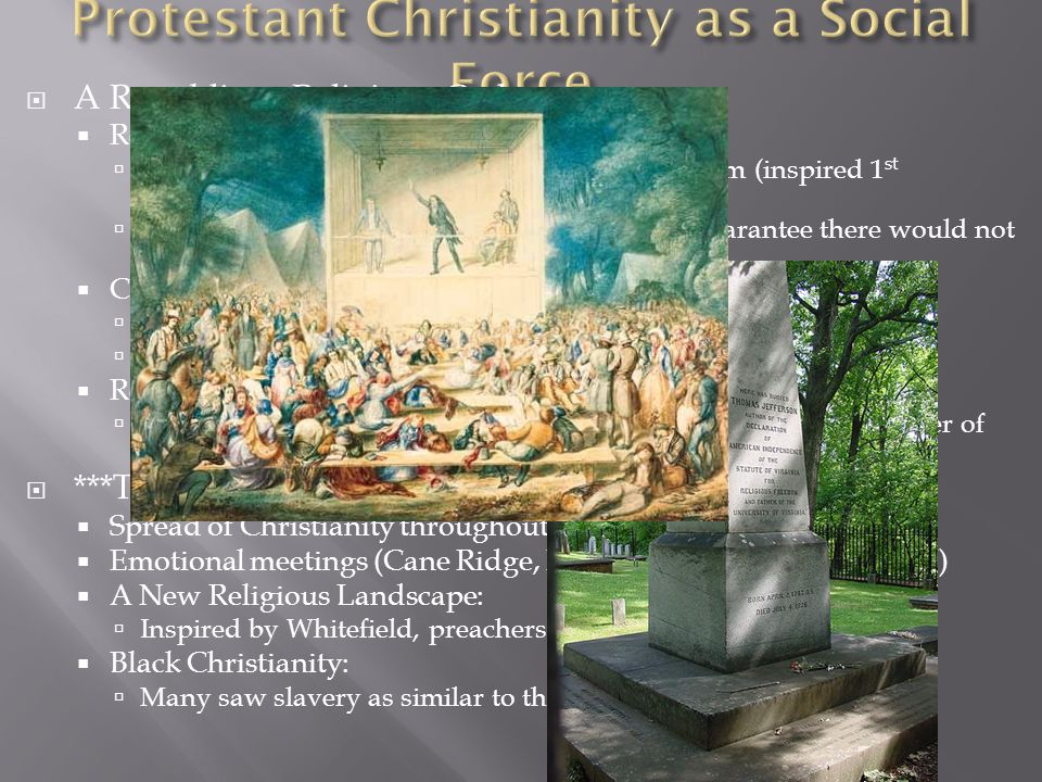 Protestant Christianity as a Social Force