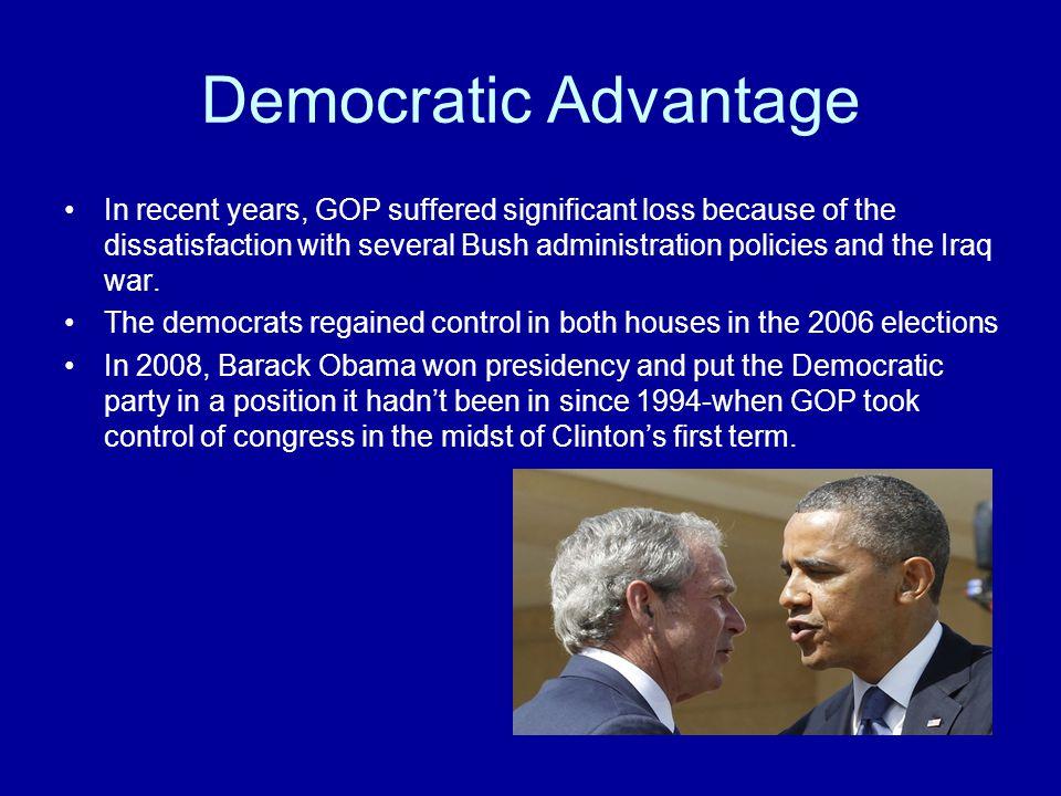 Democratic Advantage