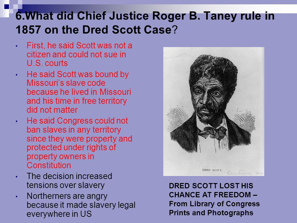 6. What did Chief Justice Roger B