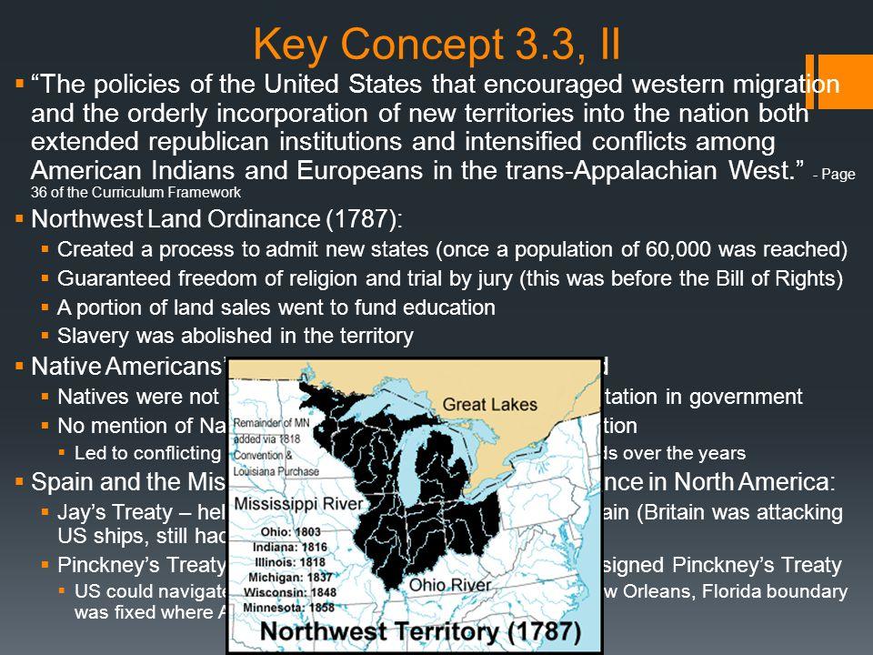 Key Concept 3.3, II