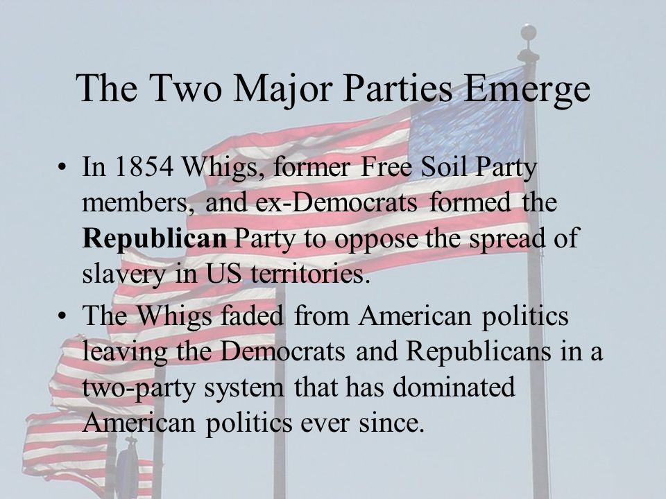 The Two Major Parties Emerge