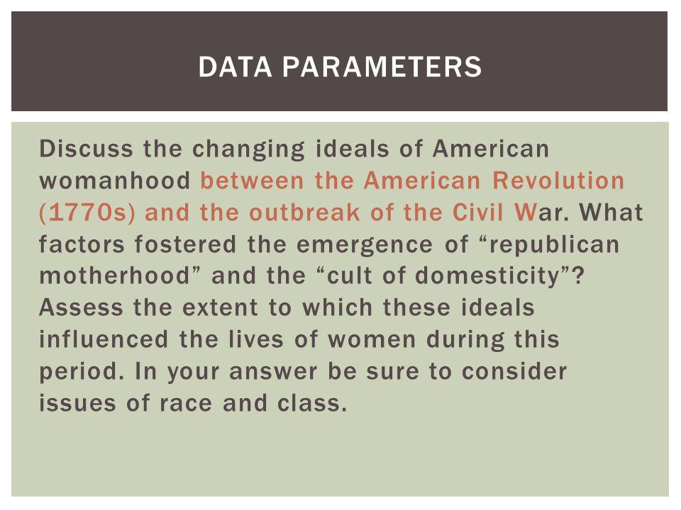 Data Parameters