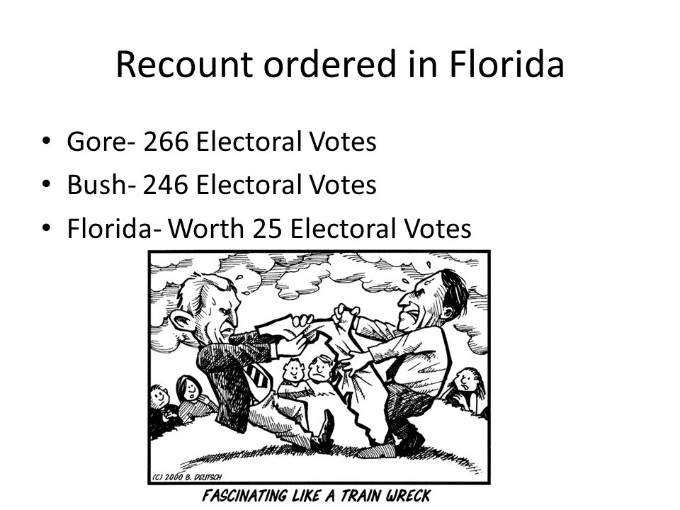 Recount ordered in Florida