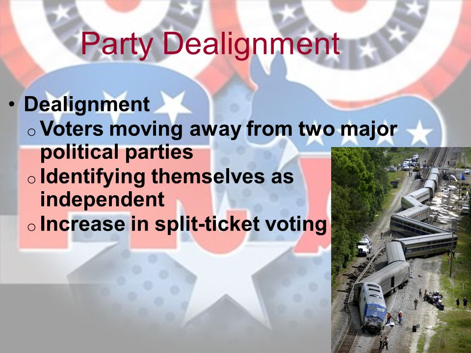 Party Dealignment Dealignment