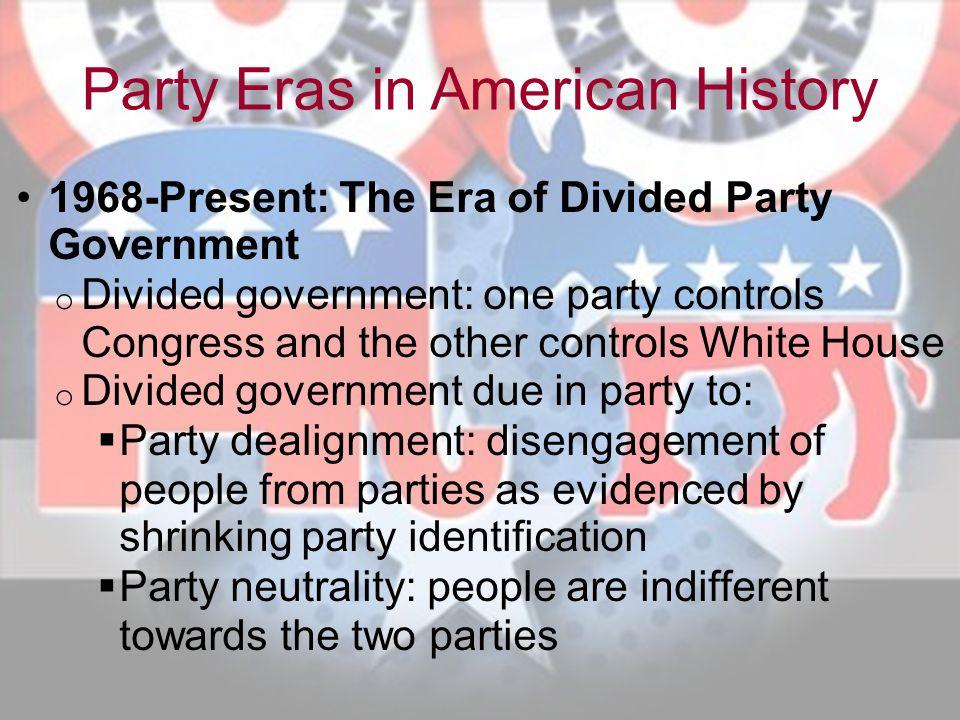 Party Eras in American History