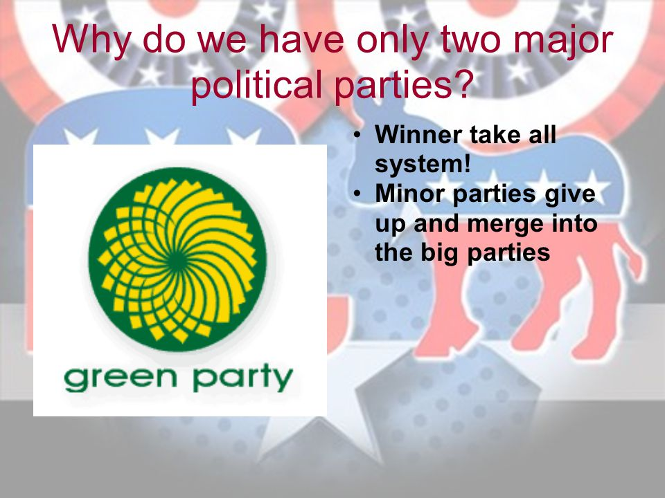 Why do we have only two major political parties