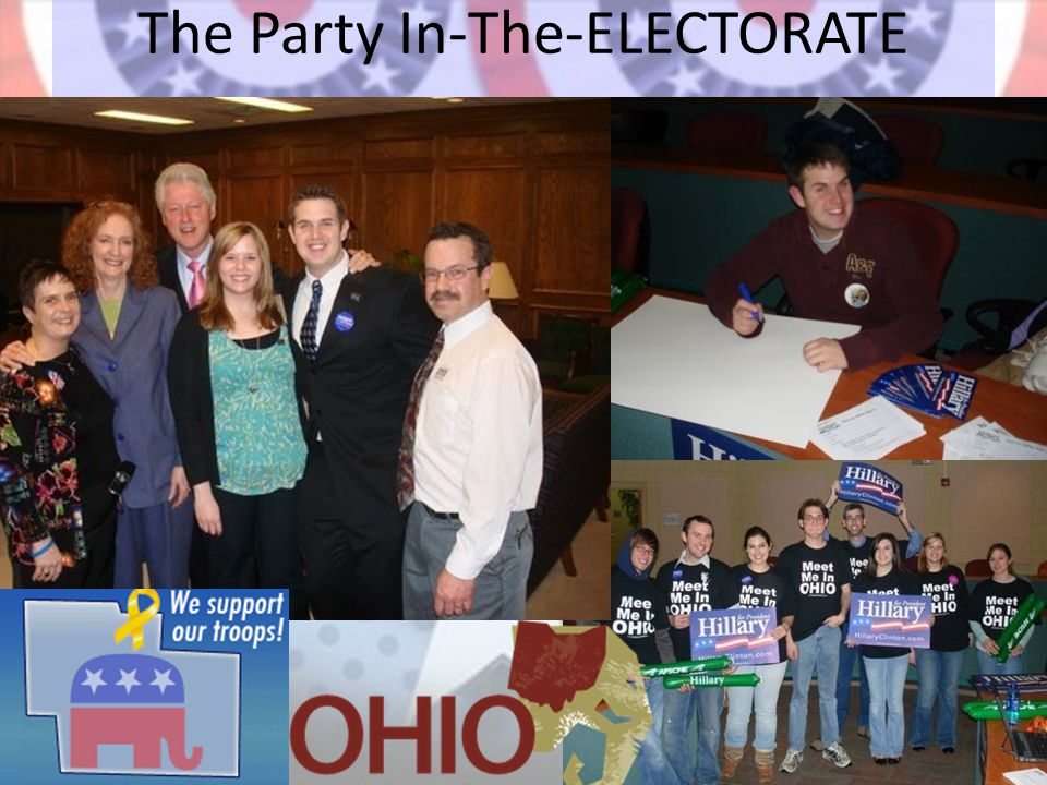 The Party In-The-ELECTORATE