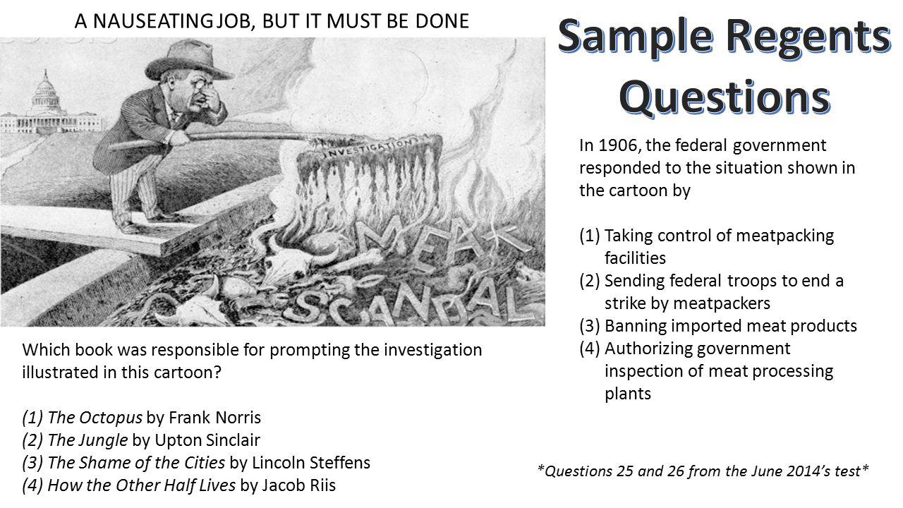 Sample Regents Questions