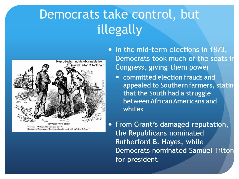 Democrats take control, but illegally