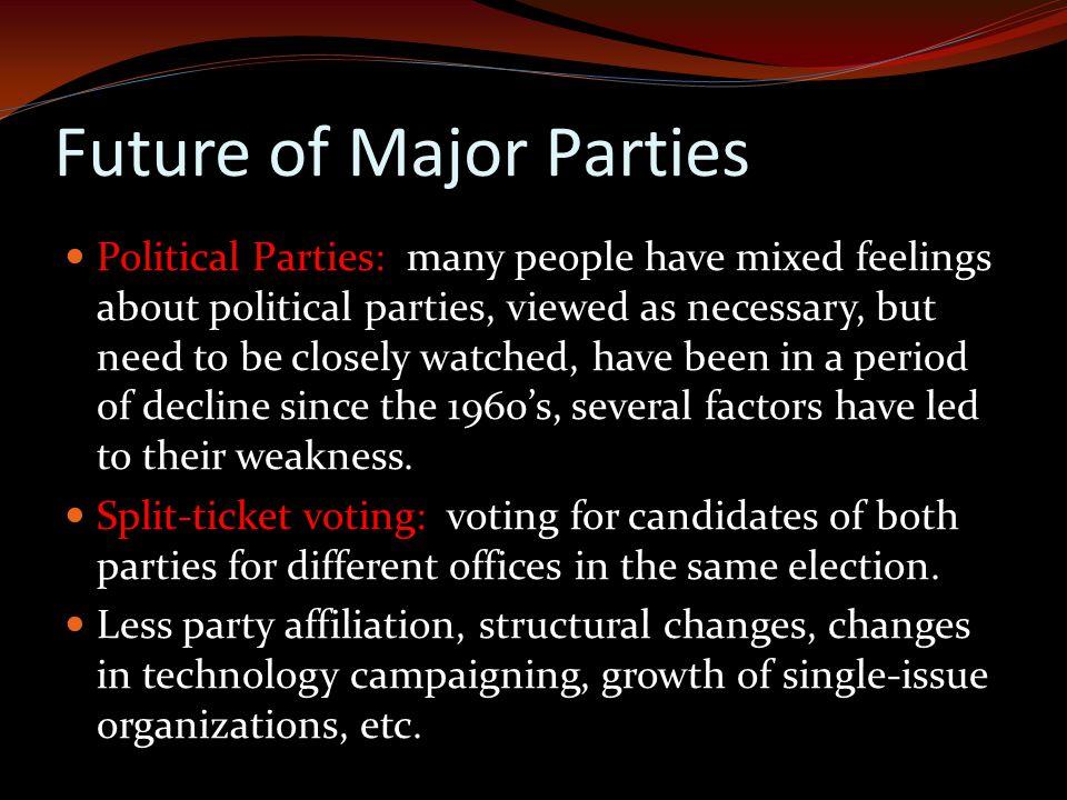 Future of Major Parties