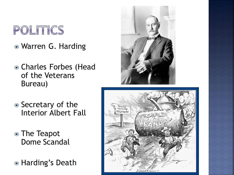Politics Warren G. Harding