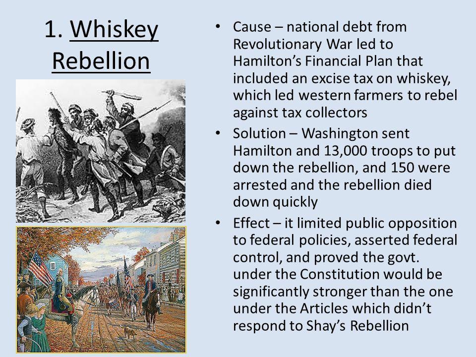 1. Whiskey Rebellion