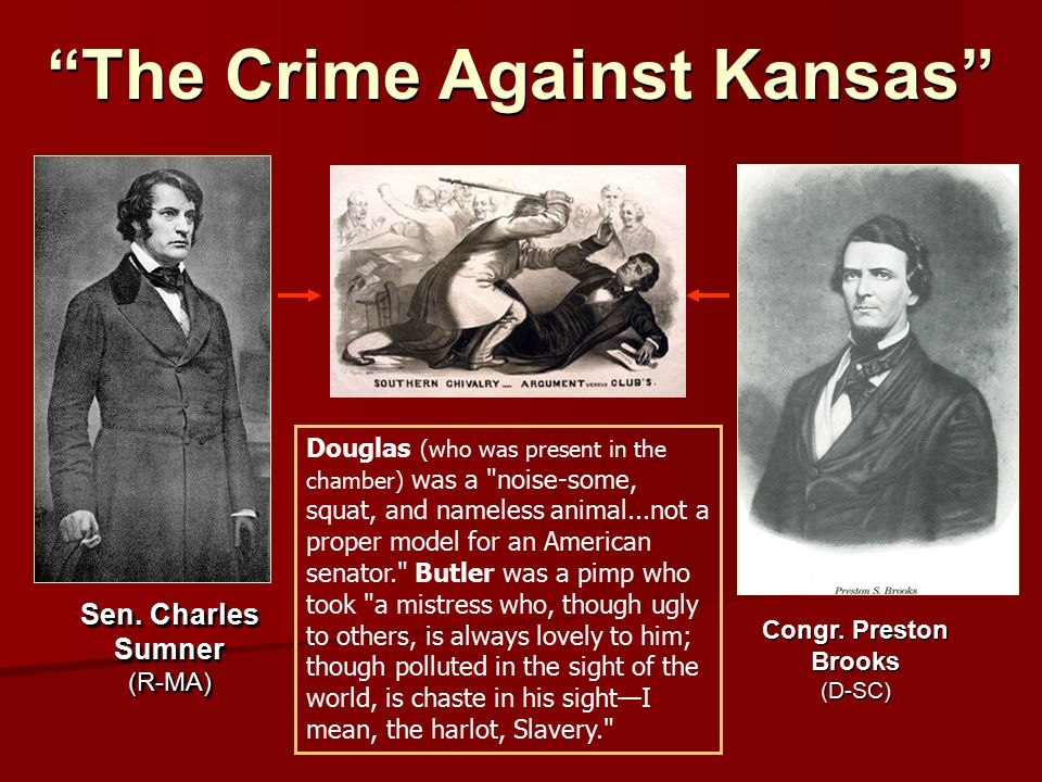 The Crime Against Kansas