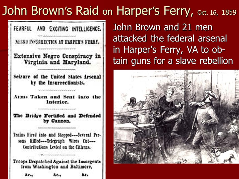 John Brown's Raid on Harper's Ferry, Oct. 16, 1859